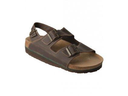 Sandál DORIS hnědý