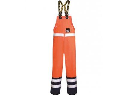 Voděodolné kalhoty s laclem ARDON®AQUA 501/A oranžové