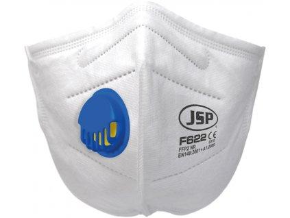 JSP respirátor FFP2V(F622) vent.30ks