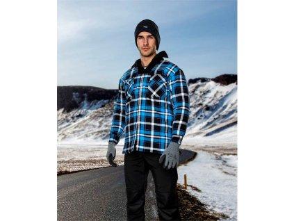 Zimní flanelová košile ARDON®JONAH modrá