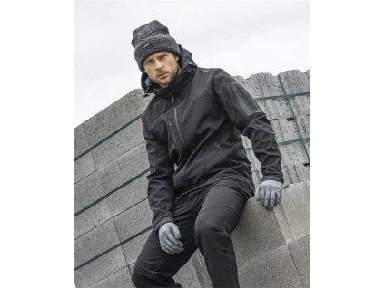 Zimní softshellová bunda ARDON®SPIRIT černá