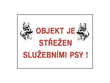 12721 T.Pozor-Objekt střež.-bezp.tabulka