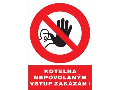 12126 T.Kotelna Nepovol.vstup.zak.