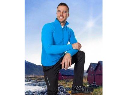 Rolák fleece JACKIE pánský, modrý