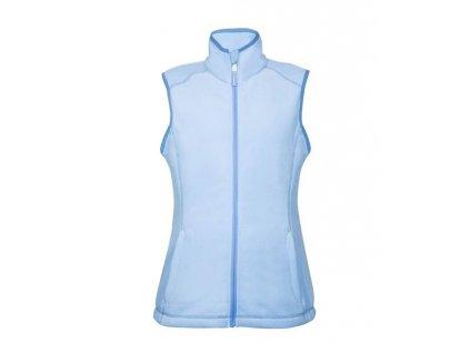 Vesta fleece JANETTE dámská, modrá