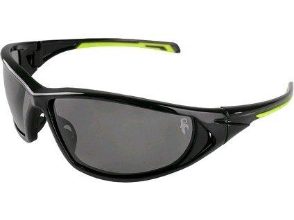 Ochranné brýle CXS PANTHERA, černo-zelené