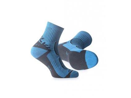 Ponožky FLR TREK BLUE