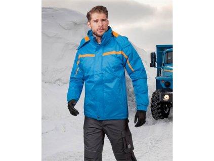 Zimní bunda JOSEPH  modrá DOPRODEJ