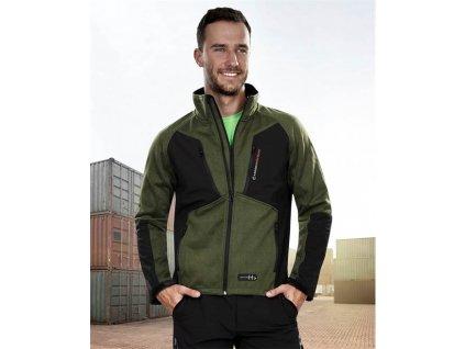 OLIVER bunda, zelená – DOPRODEJ
