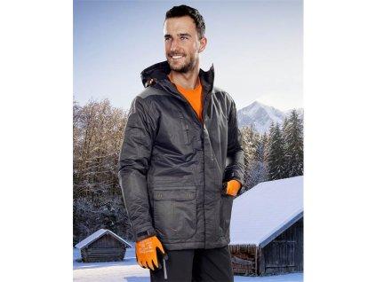 Zimní bunda ARDON®BEN černá – DOPRODEJ