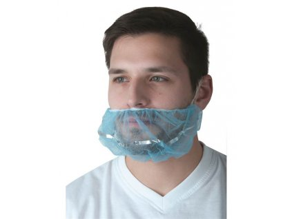 Detekovatelná PP vousenka EGO, 100 ks/balení modrá