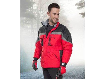 Zimní bunda ARDON®MILTON červená