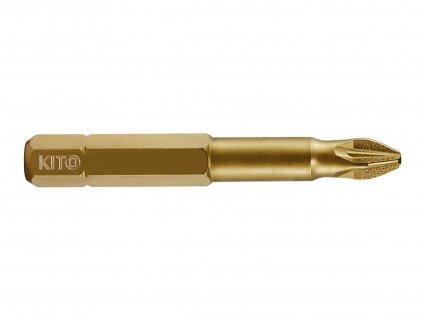 hroty, sada 10ks, PZ 3x50mm, S2/TiN