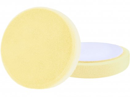 kotouč leštící pěnový, T80, žlutý, ⌀180x30mm, suchý zip ⌀150mm