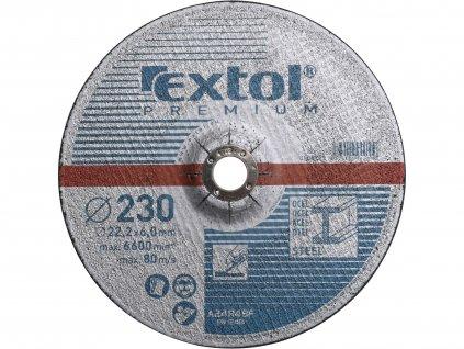 kotouč brusný na ocel, O 230x6,0x22,2mm