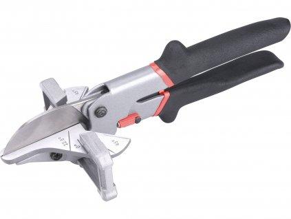 nůžky multifunkční-úhlové na plast. lišty/profily, 240mm