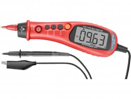 multimetr digitální, tužka, True RMS, automatická volba rozsahů