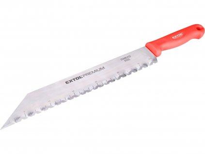 nůž na stavební izolační hmoty nerez, 480/340mm