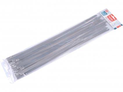 pásky stahovací NEREZ, 450x7,9mm, 50ks