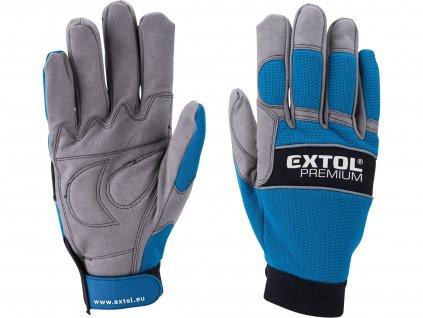 "rukavice polstrované, velikost XL/11"""