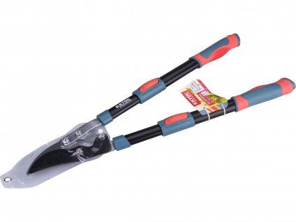 nůžky na větve teleskopické převodové dvousečné, 670-940mm, HCS