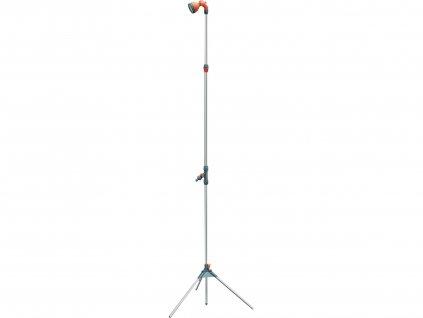 Sprcha zahradní teleskop. se stojanem, 160-220cm