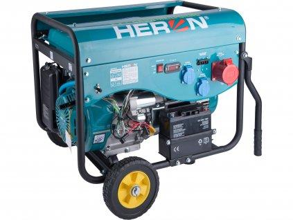 elektrocentrála benzínová a plynová (LPG/NG) 13HP/5,5kW (400V) 2x2kW (230V), elektrický start