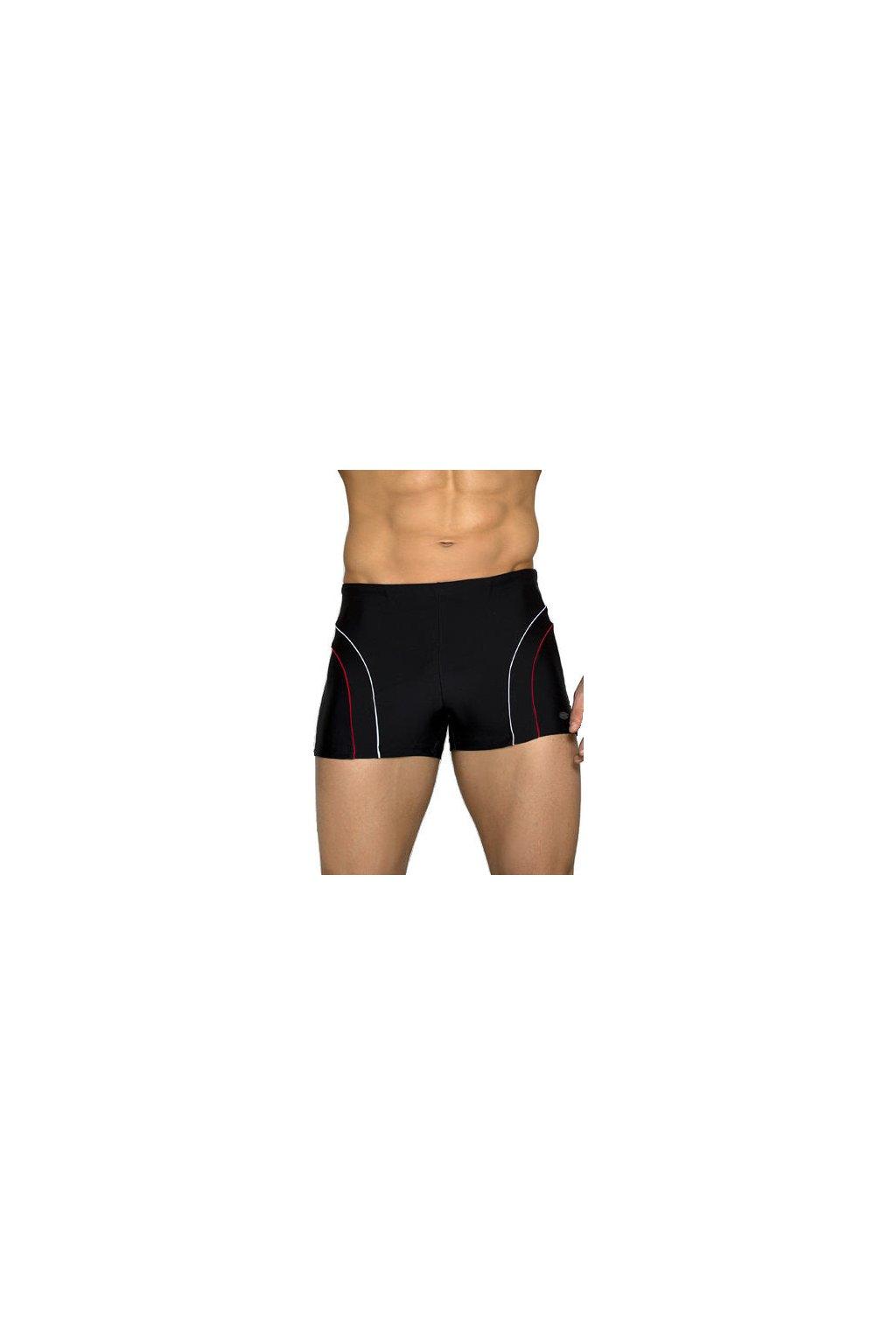 Pánské boxerkové plavky Ditrich černé