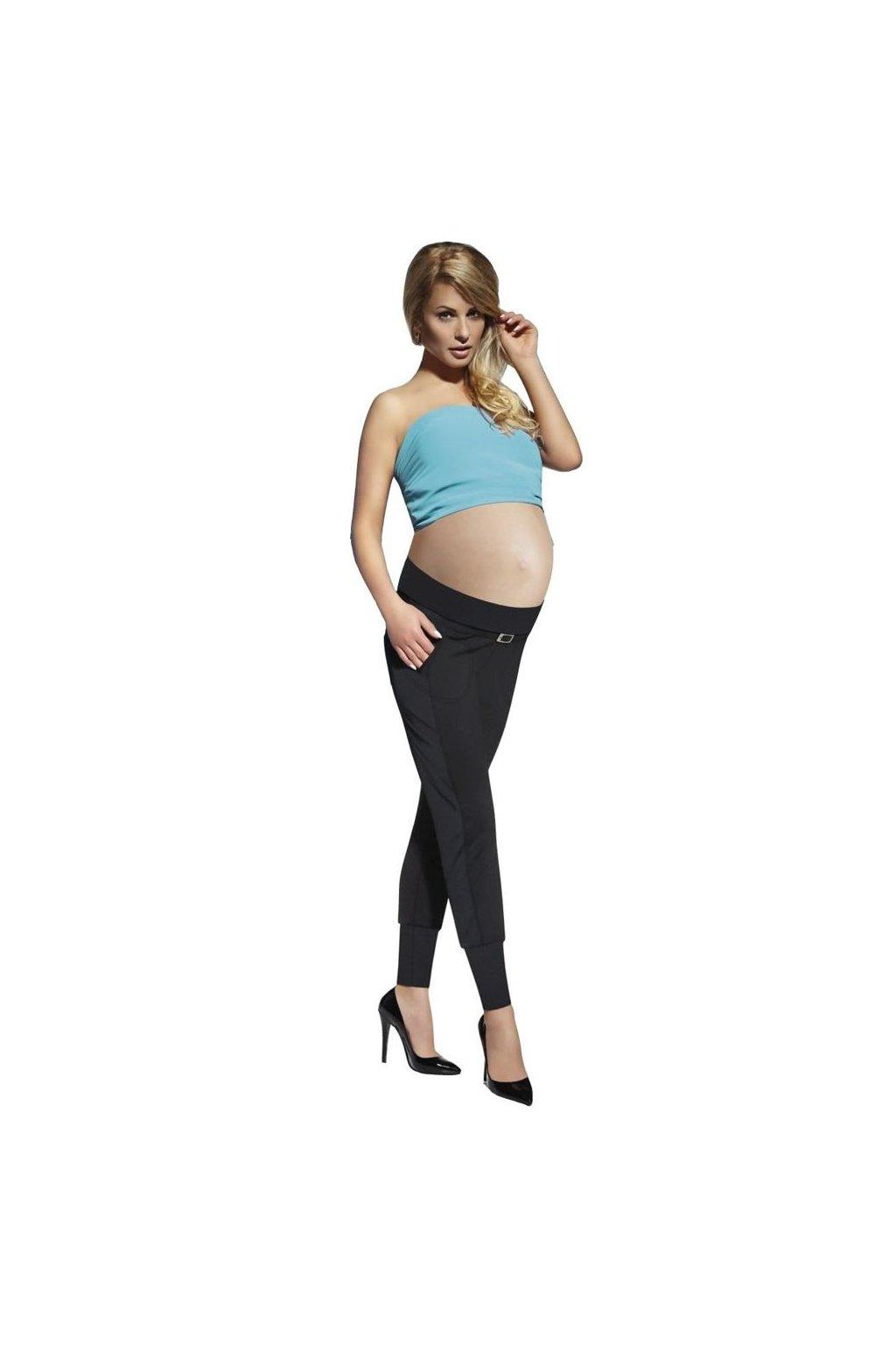 Těhotenské legíny Catrine 200 DEN černé