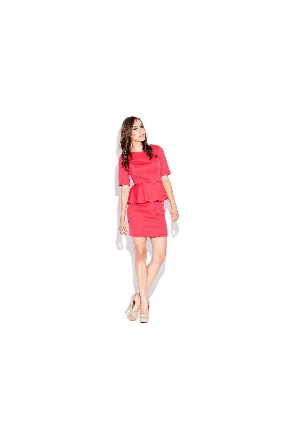 Dámské šaty model 1862716 coral