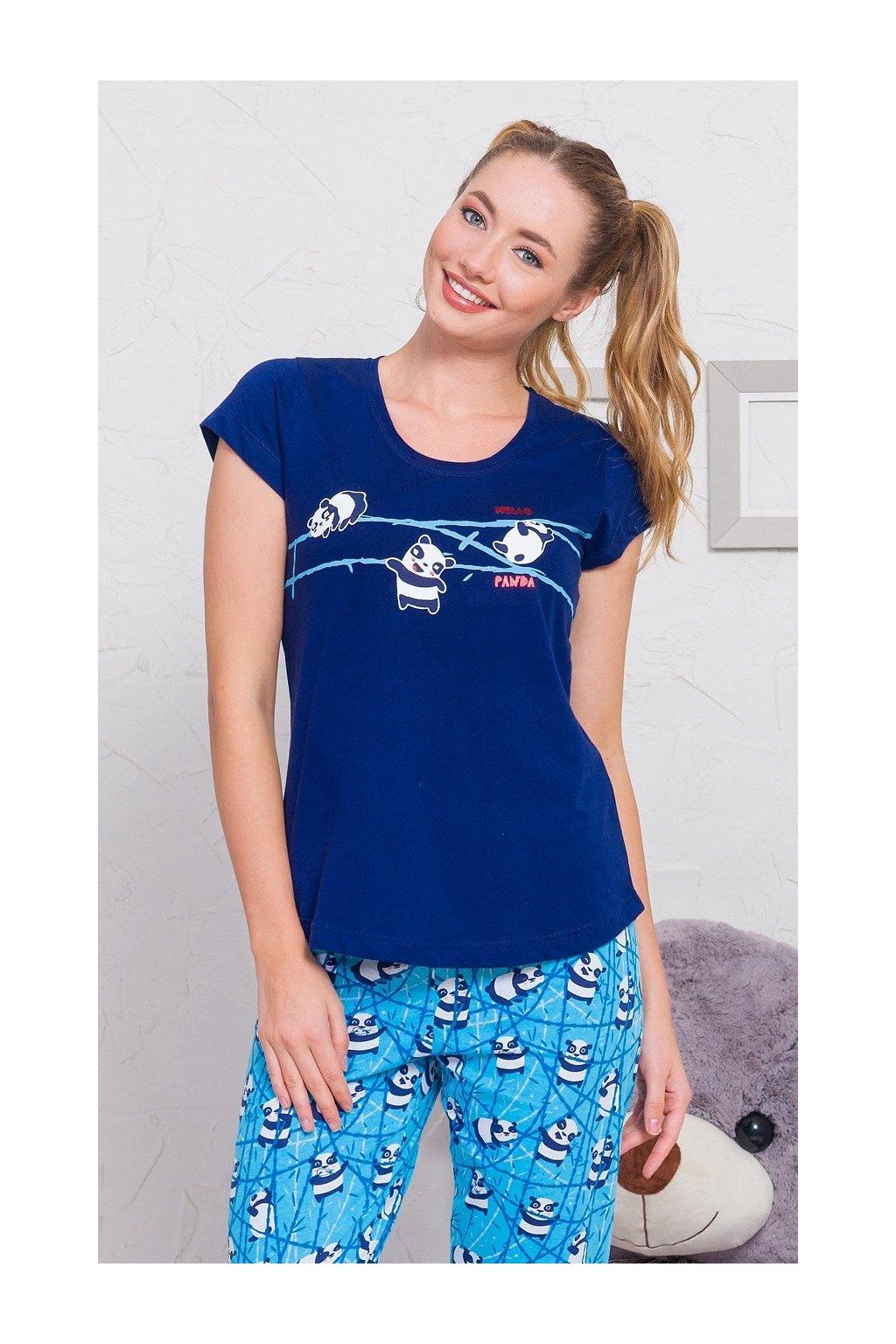 Dámské pyžamo kapri Malá panda