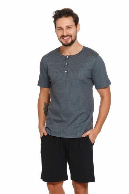 Pánské pyžamo Wilson šedé