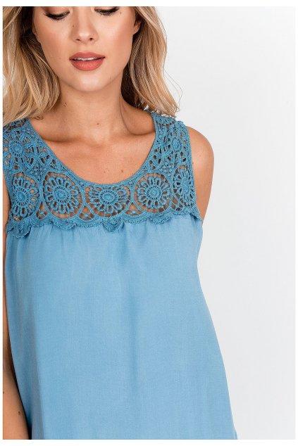 Dámské šaty s plastickou výšivkou 90858 - New Collection