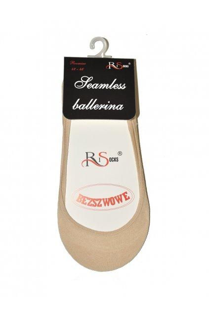 Bezešvé ponožky Ballerina do bot Art.5692235 - Risocks