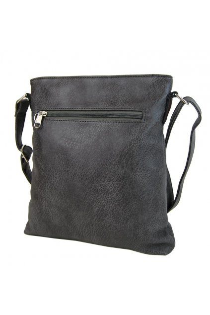 Crossbody dámská kabelka H1729 šedá - NEW BERRY