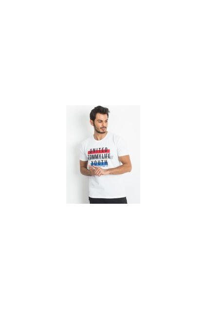 Pánské tričko 85133 - TOMMY LIFE