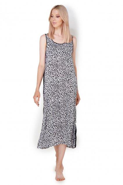 Dámské pyžamo 196 - YI2622474 černo/bílá - DKNY
