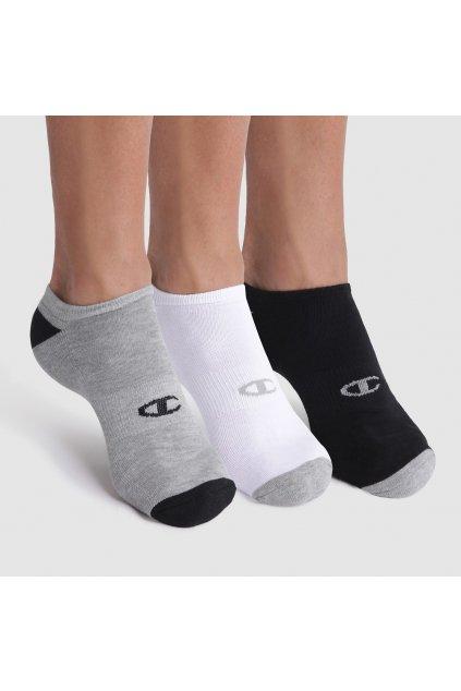 Sportovní ponožky CHAMPION NO SHOW SOCKS 3 KS - CHAMPION