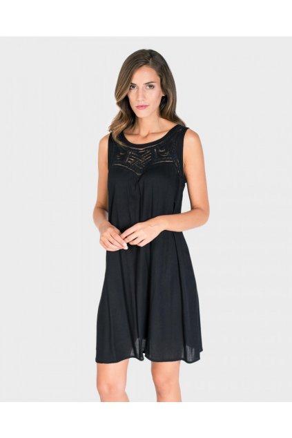 Dámské plážové šaty L197290 černá - Massana