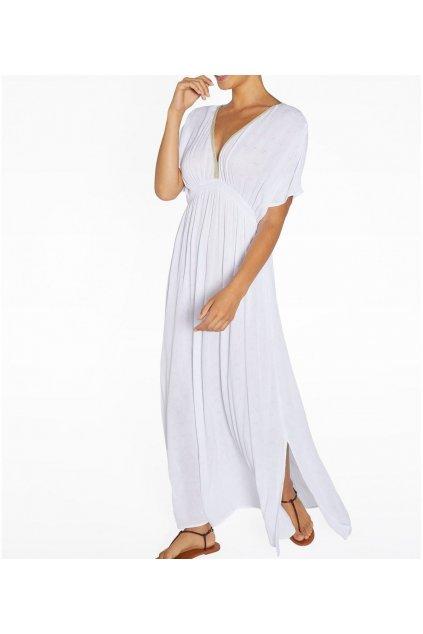 Viskózové šaty 85816 bílá - Ysabel Mora
