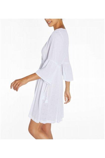 Viskózové šaty 85817 bílá - Ysabel Mora
