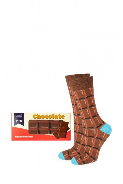 Ponožky Chocolate Box -  Soxo