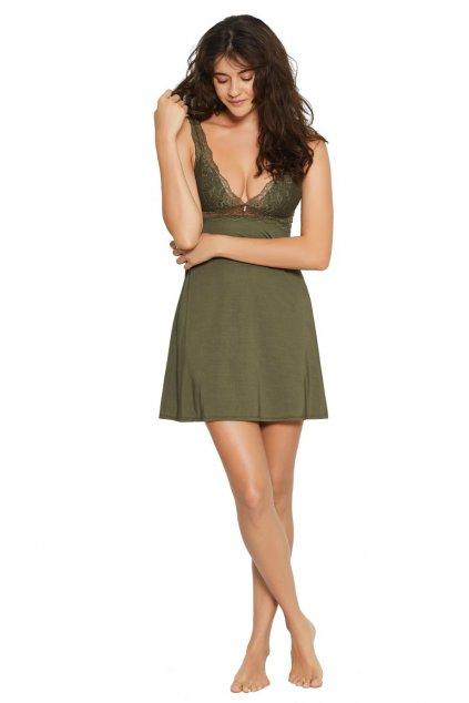Noční košile model 8447722 Lilly olive - ESO & HEN