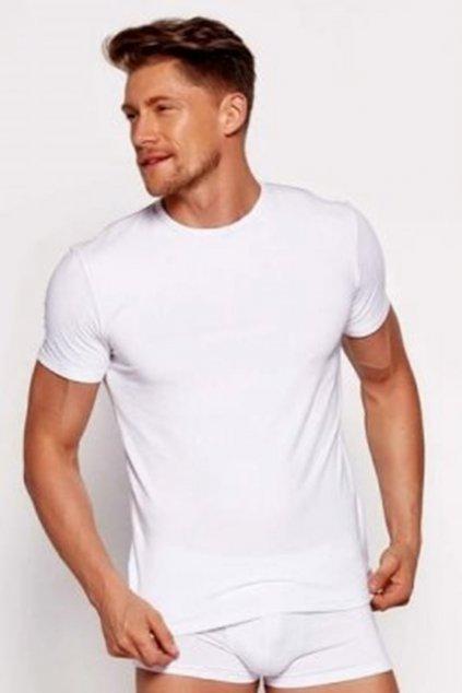 Pánské tričko 00990A white - BRUBECK