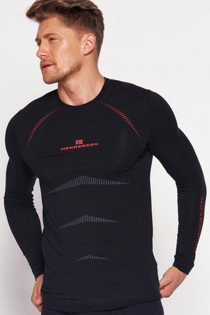 Pánské tričko 22969 Skin black - HENDERSON