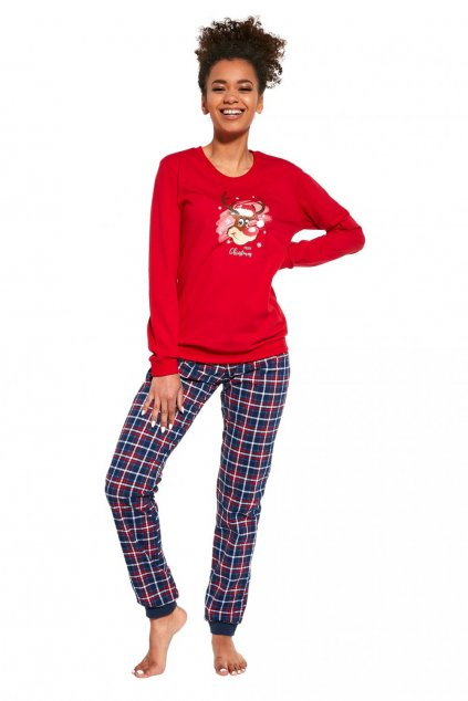Dámské pyžamo model 15230009 Reindeer - CORNETTE