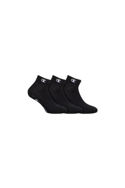 Sportovní kotníkové ponožky 3 páry CHAMPION ANKLE SOCKS LEGACY - CHAMPION