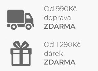 Doprava a dárek zdarma