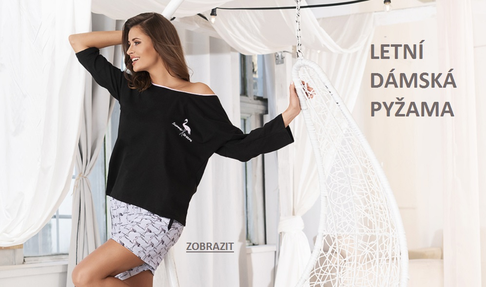 Letní dámská pyžama