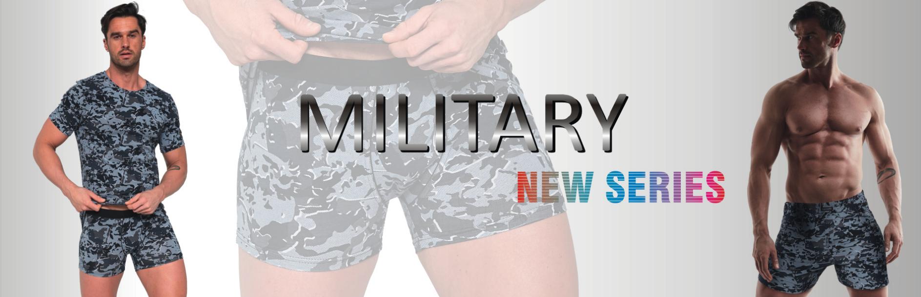 Kolekce pánské prádlo Cornette Military